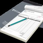 invoice book printing