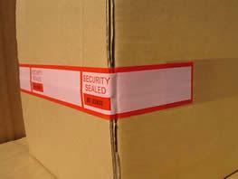 security label printing
