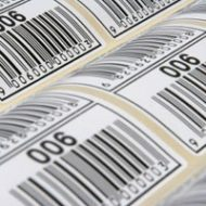 barcoded label printing